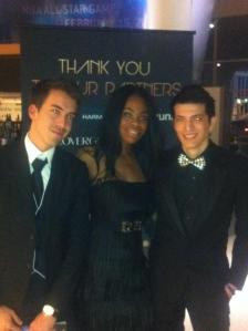 Me and friends at grammys