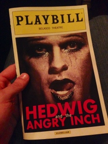 Playbill for Hedwig