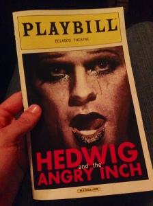 Hedwig Playbill