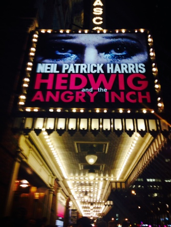Marquee for Hedwig and the Angry Inch