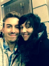 Lena Hall and I